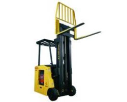 Types of Forklifts - Stand-Up Counter Balance forklifts