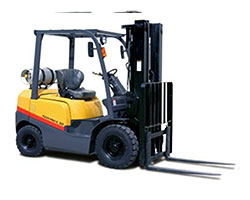 Types of Forklifts - Four-Wheel Forklifts