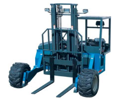 Types of forklifts - Piggy Back Lifts or Truck Mounted Forklifts