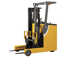 Types of Forklifts - Reach Trucks / Narrow-Aisle Trucks