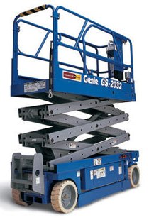 Types of Lift trucks - Aerial / Scissor Lifts