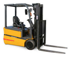 Types of Forklifts - Three-Wheel Forklifts