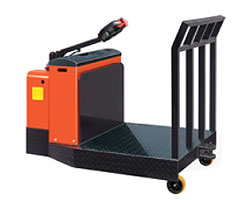 Types of Forklifts - Tow Tractors / Tuggers
